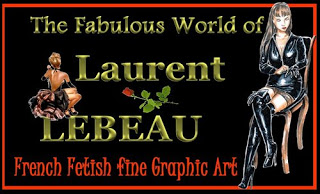 Fetish art of Laurent Lebeau